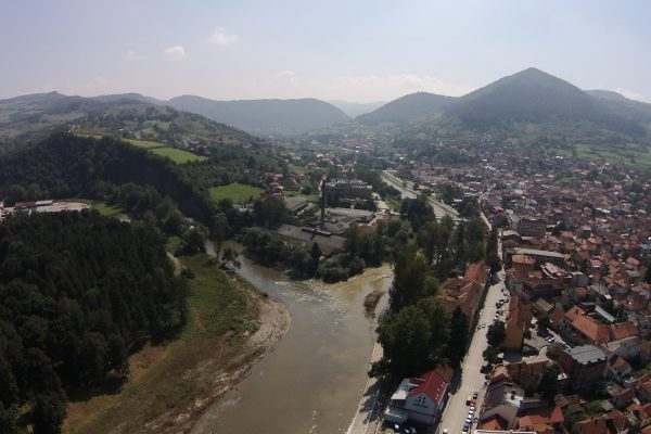 the Bosnian Valley of the Pyramids photo by Andre de Smet